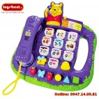 VT03-Điện Thoại Winnie the Pooh Teach n Lights Phone (Vtech)